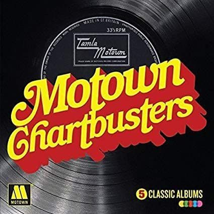 Various<br>Motown Chartbusters - 5 Classic Albums<br>Boxset, Comp + 5CD, Comp, RP